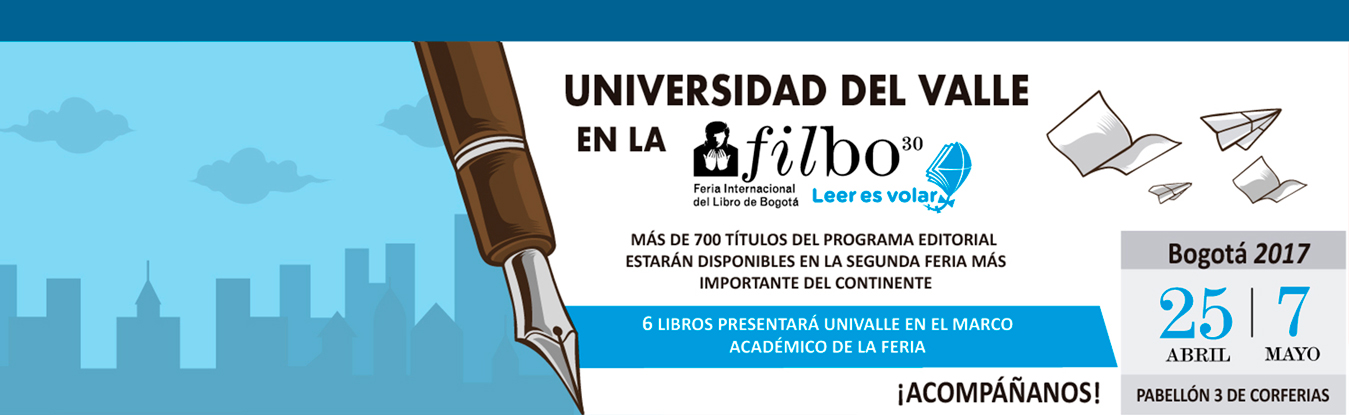 Universidad del Valle en la  FILBO