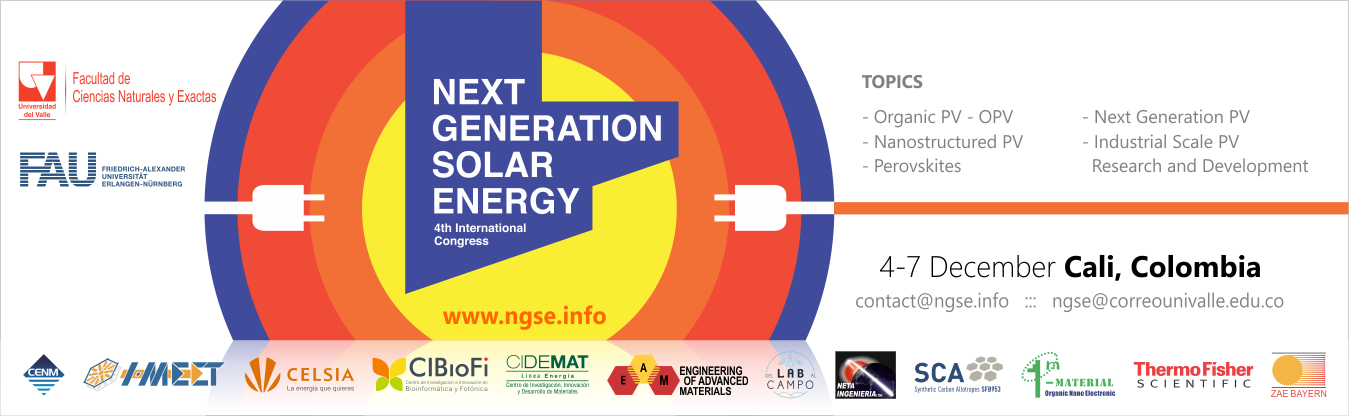 IV Congreso Internacional Next Generation Solar Energy