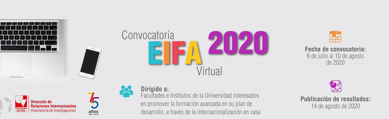 Convocatoria EIFA virtual 2020