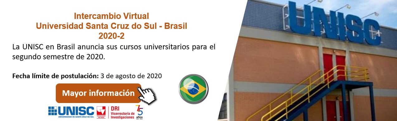 Intercambio Virtual Universidad Santa Cruz do Sul  - Brasil